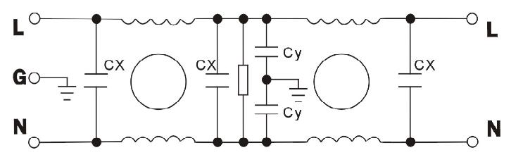 DEA4 EMI power line